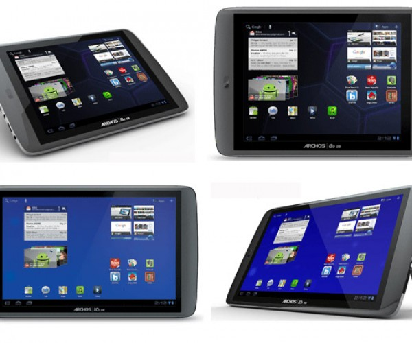 Archos 80 and 101 G9 Android Tablets on the Way