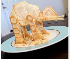 AT-AT Pancakes: May-ple The Force Be With You (and Butter)