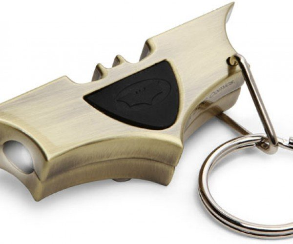 Batman Bat Signal Keychain: May or May Not Summon Batman