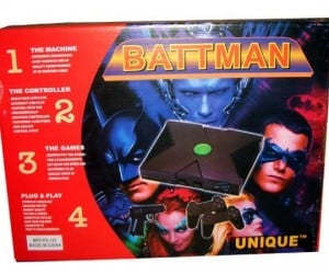 The Dark Knight Fails: Battman Xbox Bundle with PS1 Controllers