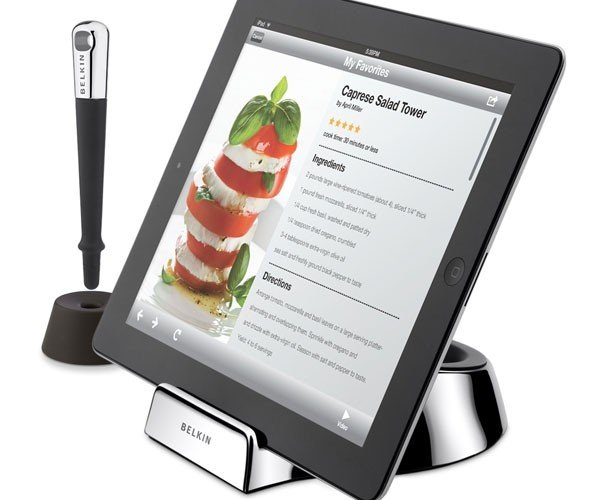 Belkin Cooks Up New iPad Dock for… Chefs?!