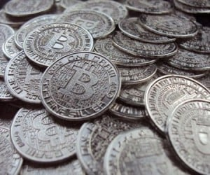 Digital Bitcoins Become Real, Shiny