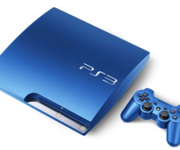 PS3: Now in Splash Blue and Scarlet Red