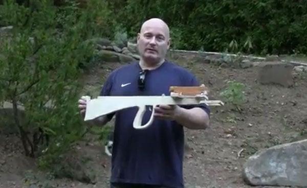 Blullpup Crossbow Slingshot