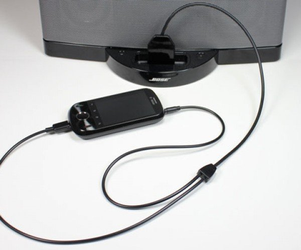 Cable Jive dockBoss+ Cable Hooks Your Android Device to an iPod Dock