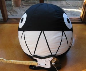 Chain Chomp Bean Bag Chair Looks Way More Comfy Than the One in the Game