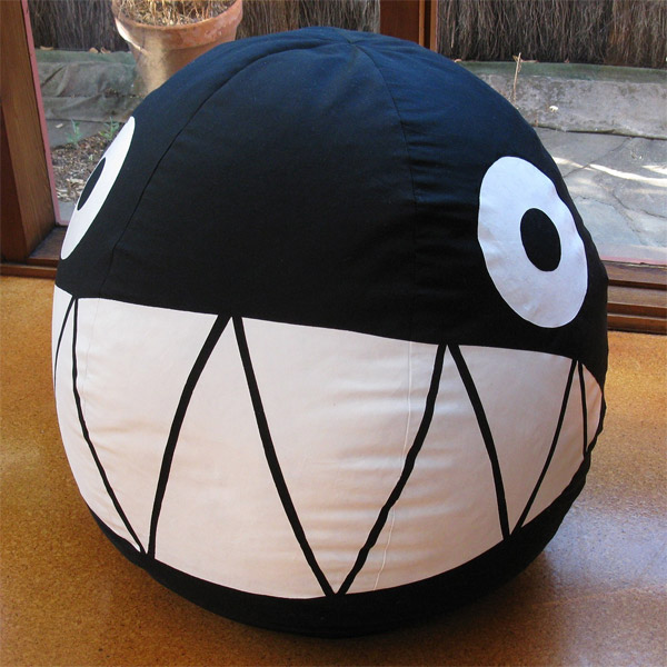 Chain chomp bean bag chair looks way more comfy than the one in the