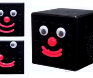 Clockman iD Alarm Clock Makes Lots of Funny Faces, No Sense