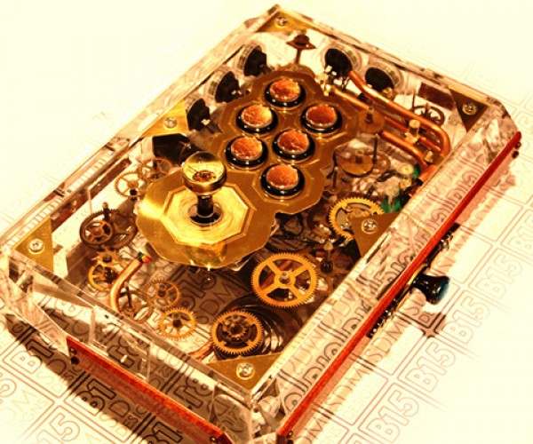 Steampunk Fight Stick: Victorian Virtual Vanquisher