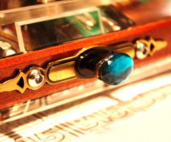 custom steampunk fight stick by sam kurd aka b15sdm designs 9