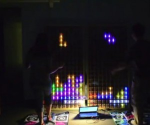 Tetris Game Controlled with DDR Pads, DDT is Born