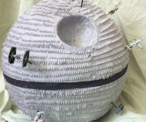 Death Star Piñata: Stay on Target! Stay on Target!