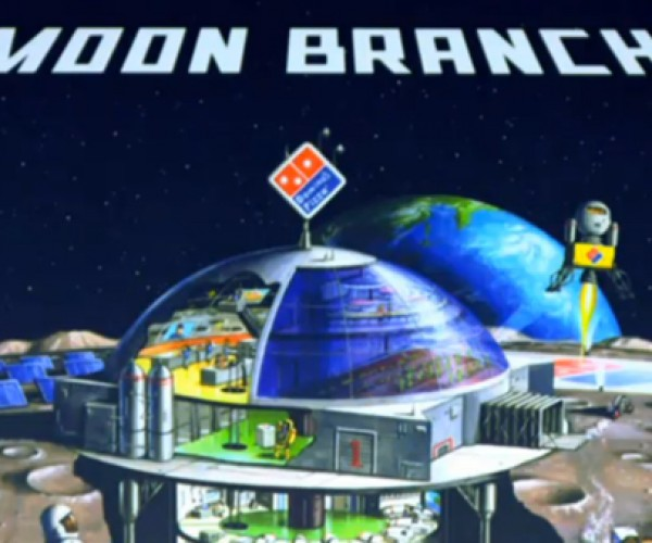 Domino's Japan Wants to Build First Pizza Restaurant on the Moon: In Other News, I Want a Million Dollars.