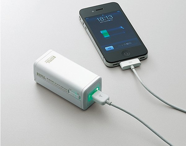 elecom DE-A01D-1908 iphone battery charger