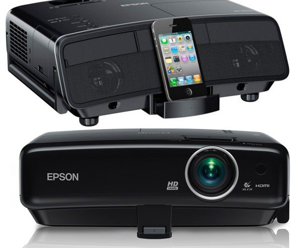 Epson Debuts New Home Theater Projectors with iPhone and iPad Dock