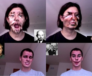 Facetracker Morphs Your Face in Real Time, Would Be Great for Chatroulette