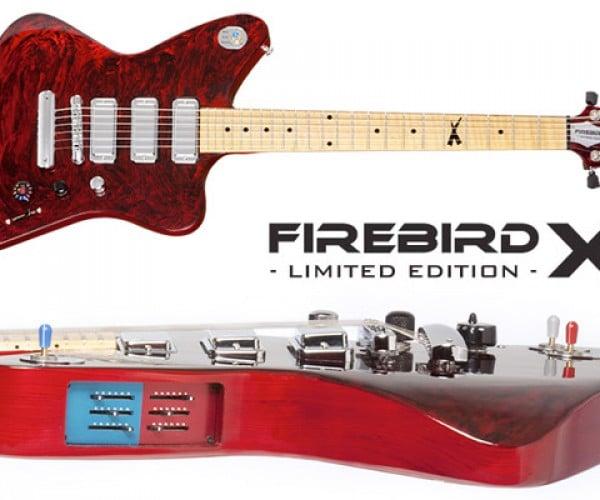 Gibson Limited Edition Firebird X Guitar: High-Tech Axe Supports Apps, Ships Today