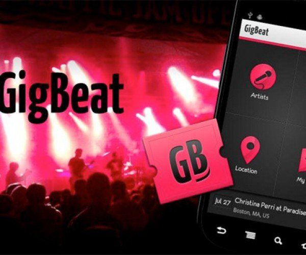 Gigbeat Uses Your Music Library to Find Nearby Concerts