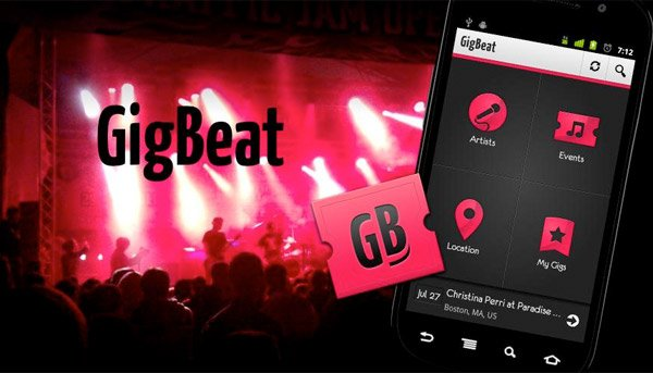 gigbeat concert locator