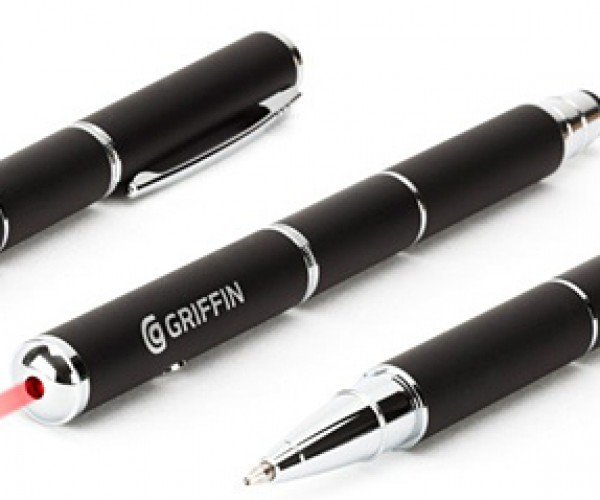 Griffin Stylus + Pen + Laser Pointer: Swiss Army Pen