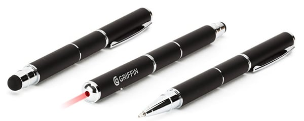 griffin stylus pen laser pointer swiss army pen technabob. Black Bedroom Furniture Sets. Home Design Ideas