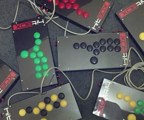 Hit Box Arcade Controller: Joybuttons