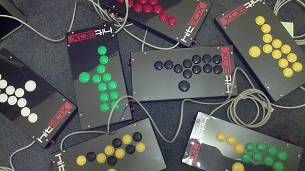 hit box stickless arcade controller