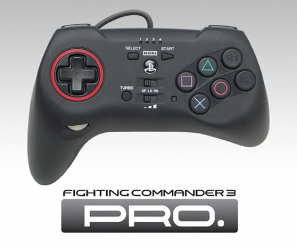 PS3 Fighting Commander 3 Pro Controller