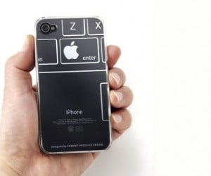 iTattoo Case Creatively Uses the Apple Logo on the iPhone's Back