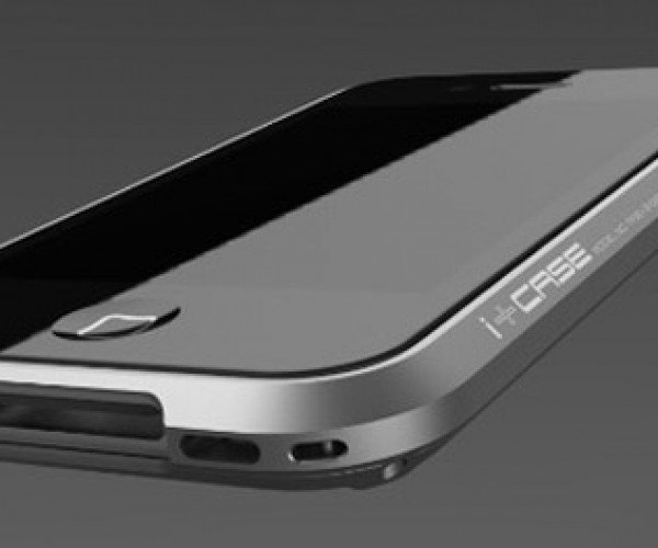 i+Case iPhone 4 Aluminum Case: Is There Such a Thing as Too Minimal?