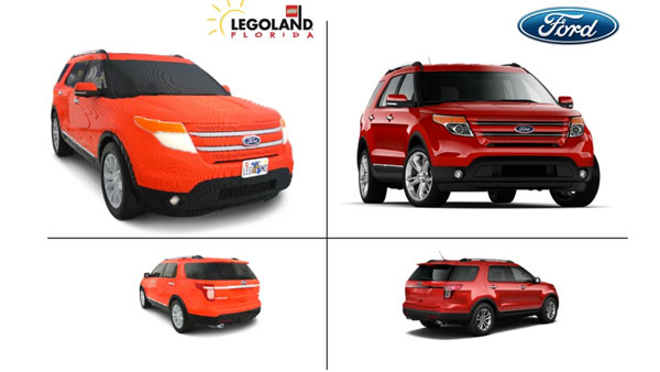 lego ford explorer made from over 382 000 bricks. Black Bedroom Furniture Sets. Home Design Ideas