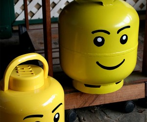 LEGO Minifig Propane Tank is a Real Hot-Head