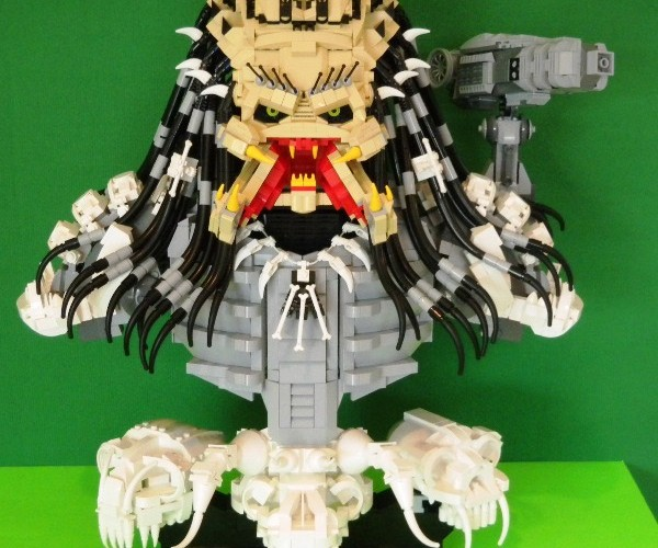 LEGO Predator Has Collected More Than Its Share of Skull Trophies