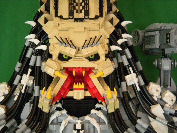 Lego Predator Has Collected More Than Its Share Of Skull Trophies Technabob