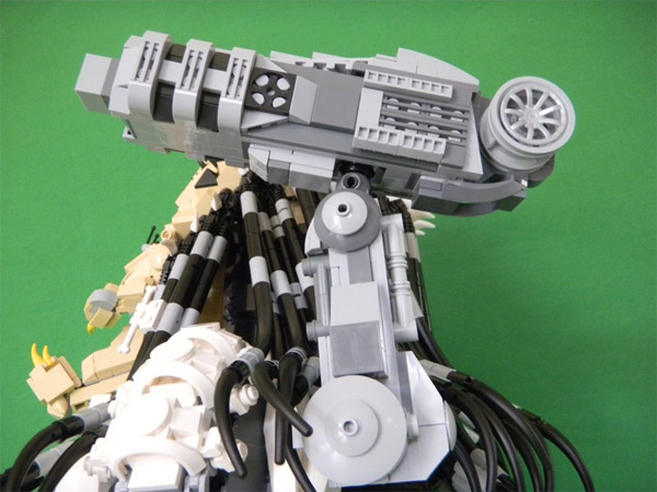 Lego Predator Has Collected More Than Its Share Of Skull