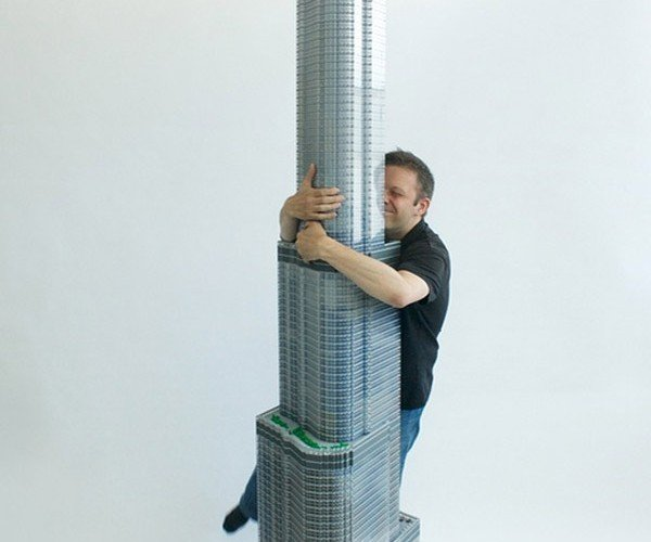 10-foot Tall LEGO Trump International Hotel and Tower Would Make The Donald Proud