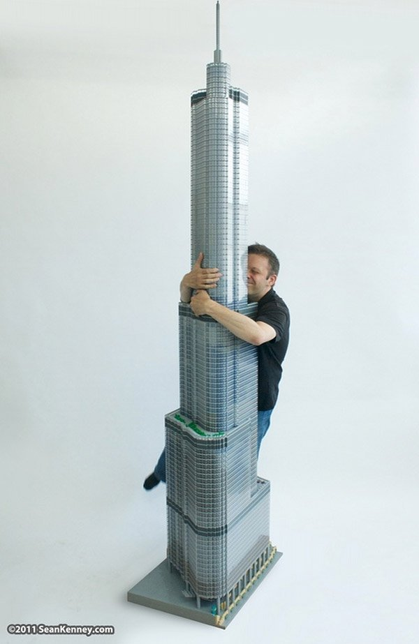 lego trump tower 6