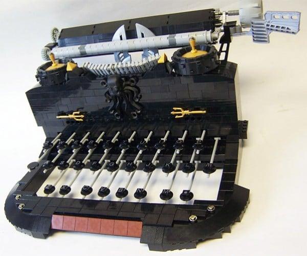 QWERTY: The LEGO Typewriter