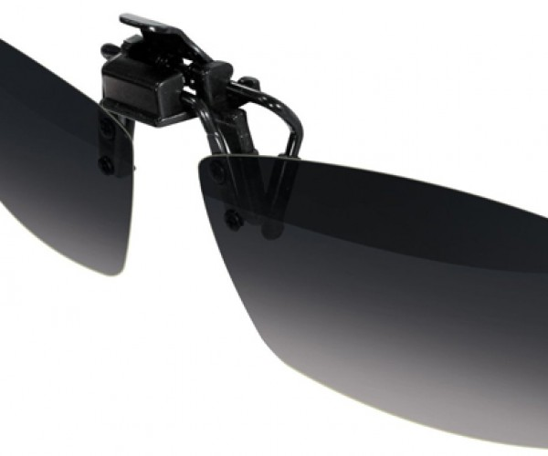 LG Clip-On 3D Glasses: Four Eyes Become Six Eyes