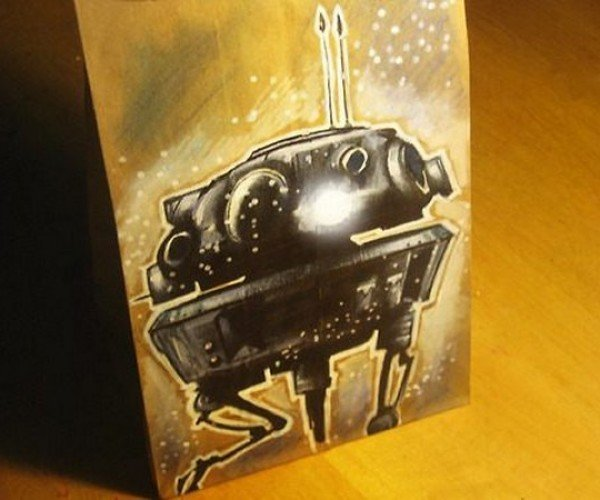 Awesome Geek Lunch Bag Art