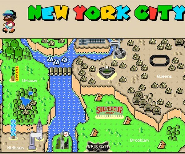 MarioNYC Map: A Guide to the Apple Empire
