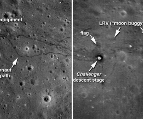 NASA Grabs Amazing Moon Landing Site Pics