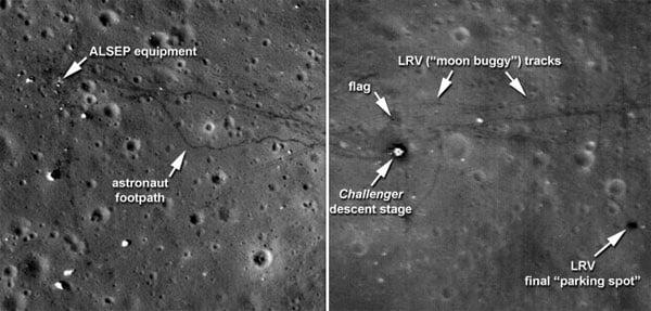 Apollo 17 Site