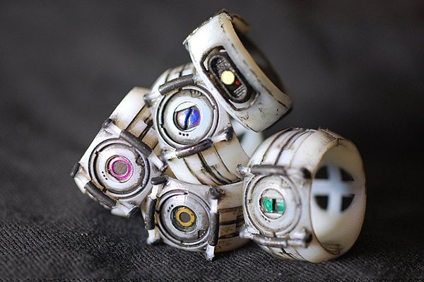 nerd culture rings by chris myles