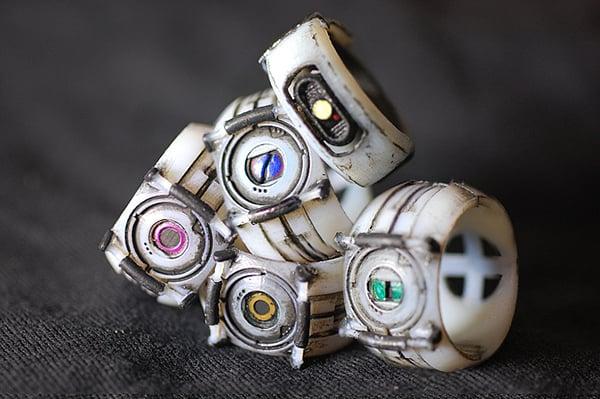 nerd culture rings by chris myles