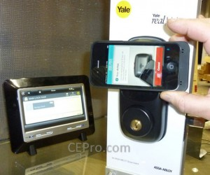 Yale Automated Lock Opens with NFC Smartphone Tech