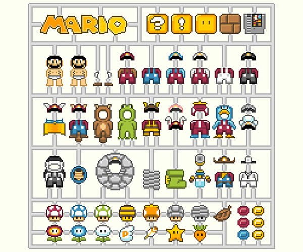 Mario, Link and Samus Model Kits: Nintendo, Assemble!