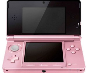 Nintendo Launches Misty Pink 3DS, All 3 Dimensions Now Available for the Ladies