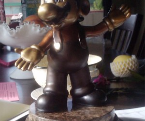 20 Years of Service at Nintendo Gets You a Mario Statue