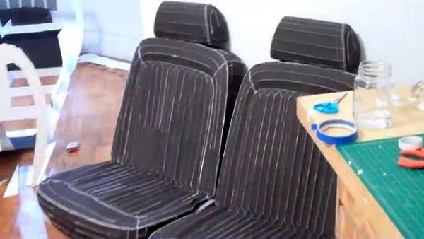 papercraft_1969_mustang_seats